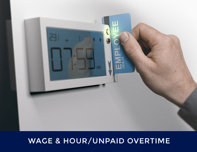 wage and hour-unpaid overtime