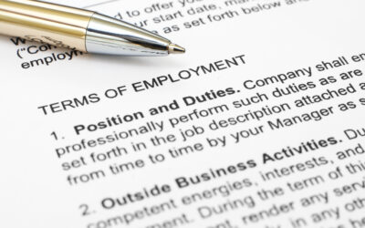 Top 10 Must Have Terms in any Employment Contract